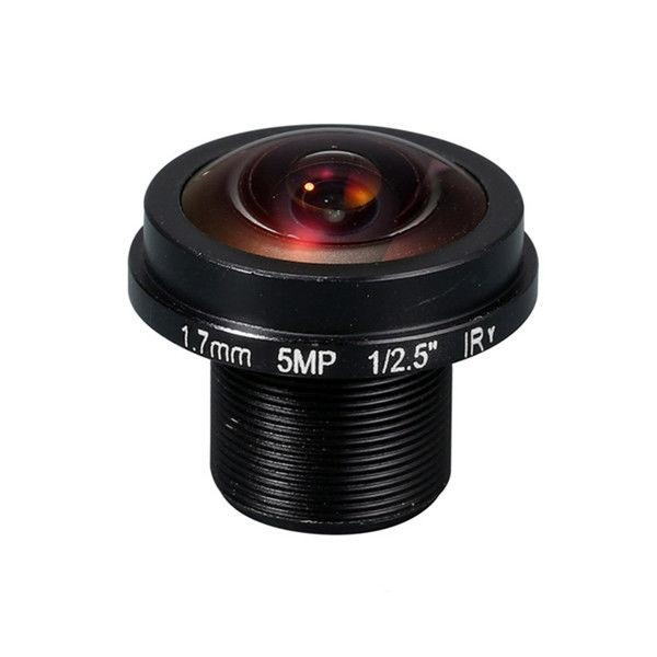"1/2.5"" 1.7mm F2.0 5MP Megapixel M12*0.5 mount 185degree IR Fisheye Lens, 360VR panoramic lens - Videolenssupplier.com"