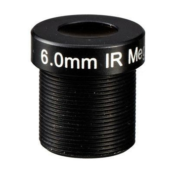 "1/3"" 6mm F1.8 Megapixel 1080P M12x0.5 Mount MTV Fixed Focal Lens for IMX290/OV4689/OV2718 - Videolenssupplier.com"