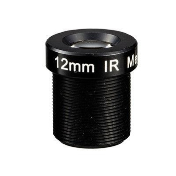 "1/3"" 12mm F1.8 Megapixel 1080P M12x0.5 Mount MTV Fixed Focal Lens for IMX290/OV4689/OV2718"