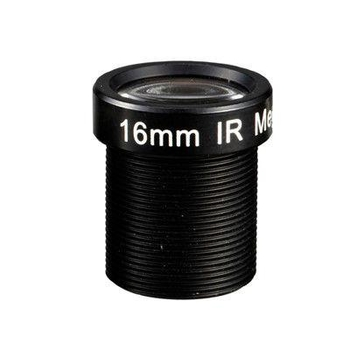 "1/3"" 16mm F1.8 Megapixel 1080P M12x0.5 Mount MTV Fixed Focal Lens for IMX290/OV4689/OV2718 - Videolenssupplier.com"