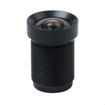 1/2.3inch 4.3mm 4K low distotion video lens, s mount replacement lens for action camera Xiaomi Yi/Gopro, drone lens