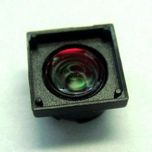 "1/4"" 3.3mm F2.8 2Megapixel M6x0.3 mount non-distortion lens, M6 plastic video lens - Videolenssupplier.com"