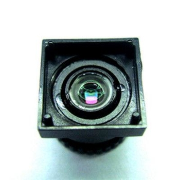 "1/7"" 2mm F2.8 Megapixel M7*0.35 mount non-distortion lens, plastic 2mm video lens"