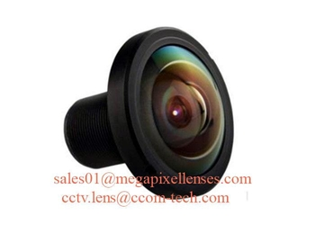 "1/1.8"" 1/2.3"" 1.45mm 10MP Megapixel S mount M12 190degree Fisheye Lens for IMX178 IMX226, Drone UAV 360VR lens - Videolenssupplier.com"