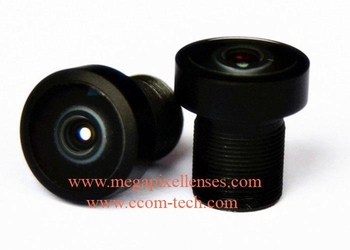 "1/2.3"" 1.8mm 12MP Megapixel M7/M12 mount wide-angle 200degree IR CUT fisheye lens for IMX078 IMX322 OV4689 OV9712"
