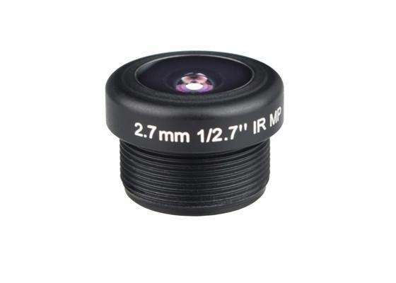 "1/2.7"" 2.7mm 3Megapixel 1080P M12 Mount 180degree Wide Angle Lens for IMX323 IMX290, visual doorbell vehicle camera lens"