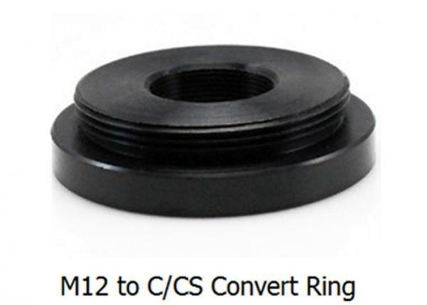 M12 to C/CS Mount Convert Ring, Metal M12 to C/CS mount adapter, Board Lens to CS Mount Adaptor