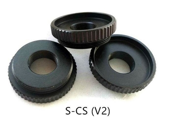 M12 to C/CS Mount Convert Ring, Metal M12 to C/CS mount adapter, Board Lens to CS Mount Adaptor - Videolenssupplier.com