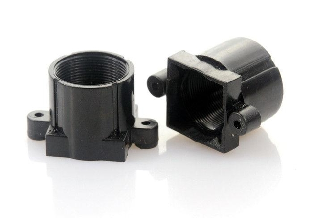 Plastic M12x0.5 mount Lens Holder, 18mm fixed pitch holder for board lenses, height 13.2mm - Videolenssupplier.com
