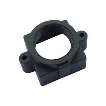 Plastic M12x0.5 mount Lens Holder, 20mm fixed pitch holder for board lenses, height 10mm - Videolenssupplier.com