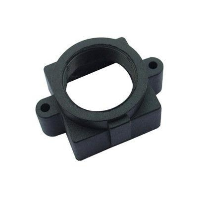 Plastic M12x0.5 mount Lens Holder, 20mm fixed pitch holder for board lenses, height 10mm