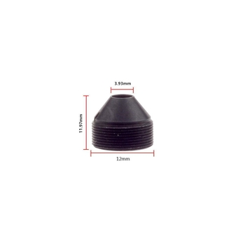"1/2.7"" 10mm F1.6 2MP Megapixel M12x0.5 mount Sharp Cone IR Pinhole Lens for covert cameras, 10mm M12 pinhole lens - Videolenssupplier.com"