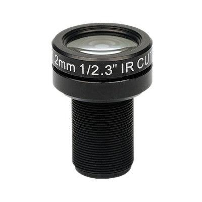 "1/2.3"" 7.2mm 10MP Megapixel F2.4 M12x0.5 Mount Non-Distortion IR CUT Board Lens for MT9J003, IR CUT Drone Lens - Videolenssupplier.com"